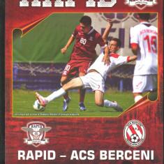 FC RAPID - ACS BERCENI - Program meci