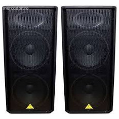 Boxe Behringer Putere 500 rms, 250 - 500 W