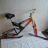 Snow Bike, Snowbike, Ski Bike, Skibike, bicicleta cu skiuri