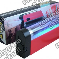 Gadget - Detector de bancnote cu raze UV si lanterna cu bec P1920