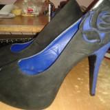 Pantofi dama, Marime: 40, Albastru - Pantofi