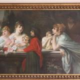 Tablou in ulei pe panza semnat HANS ZATZKA, Portrete, Realism