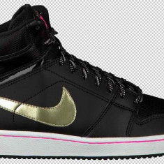 Bascheti originali NIKE BACKBOARD HI SI - Adidasi copii Nike, Unisex, Piele naturala