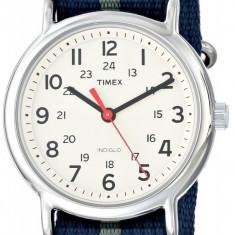 Timex Unisex T2N654 Weekender | ORIGINAL 100% | Livrare cca 10 zile lucratoare | Plata 3 rate fara dobanda | Aducem pe comanda orice produs din SUA