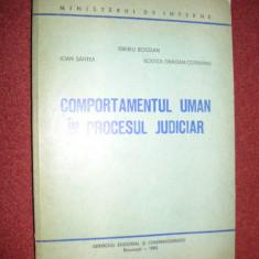 Comportamentul uman in procesul judiciar - Tiberiu Bogdan, s.a. - Carte Drept procesual civil