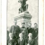 921 - Galati, Monumentul eroilor din BERESTI - old postcard - unused
