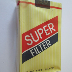 PACHET NOU TIGARI COLECTIE SUPER FILTER DIN ANII 80 - Pachet tigari