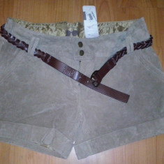 Pantaloni dama, Scurti, Piele - Pantaloni scurti Cache Cache