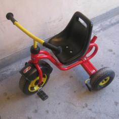 Tricicleta Puky CDT 1 - Tricicleta copii, 12-24 luni, Unisex, Rosu