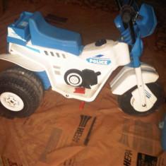 Motocicleta electrica Peg-perego - Masinuta electrica copii Peg Perego, Unisex, Bleu