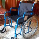 Scaun cu rotile - Scaun handicap, nou nout, infoliat, cu garantie, 58cm latime