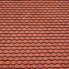 Ocazie ! Vand tigla rosie pentru acoperis, tip solzi, calitativa, pret 1leu/buc.