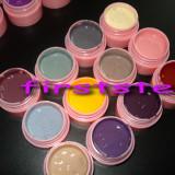 Geluri colorate set gel uv color 12 culori bucati CaNNI UV / LED / soak off geluri pure kit unghii false tehnice lampa uv - Gel unghii