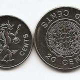 Insulele Solomon Set - 1, 2, 5, 10, 20, 50 Cents, 1 $ (1996/06) UNC !!!, Australia si Oceania, An: 1996