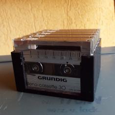 Casetofon - Set mini casete audio GRUNDIG STENO-CASSETTE 30