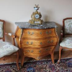 Comoda stil Rococo cu blat din marmura.REDUCERE!!!! - Mobilier, Sufragerii si mobilier salon, 1900 - 1949
