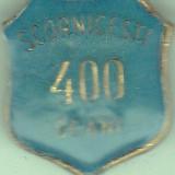 Insigna aniversara 400 ani Scornicesti