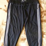 Pantaloni ¾ Doha cu dantela; marime M: 70-96 cm talie elastica; 73.5 cm lungime - Pantaloni dama, Marime: M, Culoare: Din imagine