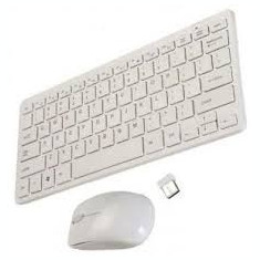 Mini Tastatura Ultra Wireless kit + mouse 2.4 ghz, Fara fir, Bluetooth