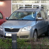 Bare Auto transversale - Bare Portbagaj Transversale Skoda Roomster, Yeti, Octavia Break, Fabia Break / Aluminiu