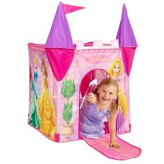 Casuta/Cort copii Altele, Altele, Fata, Roz, Alte materiale - Cort de joaca - Printesele Disney + Scaunel BONUS