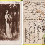 Eminescu - Salmen- La o artista, Circulata, Printata
