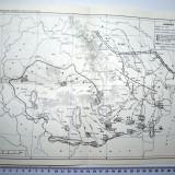 LOT HARTI / HARTA - DESFASURAREA INSURECTIEI ARMATE ANTIFASCISTE // DACIA SEC.1, 2 EN.//ROMANIA DUPA CUCERIREA INDEPENDENTEI