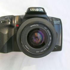 Minolta Dinax 500 SI+Zoom Minolta AF 35-70/3, 5/4, 5 baioneta Minolta A-Sony Alpha - DSLR Sony