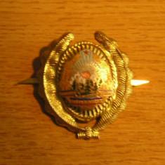 Colectii - BDEU - EMBLEMA MILITARA - COMUNISTA - PIESA DE COLECTIE