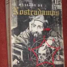 Le messages de Nostradamus sur l'ere proletaire - Vlaicu Ionescu - Carte Hobby Ezoterism