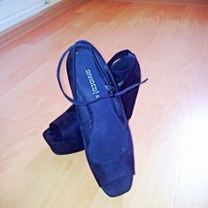 Sandale H&M - Sandale dama H&m, Marime: 39, Culoare: Negru, Negru