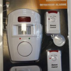 Sisteme de alarma - Alarma wireless cu senzor de miscare