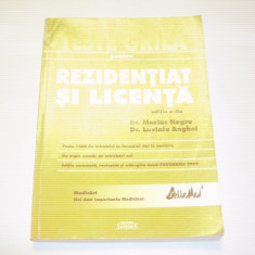 Carte Medicina - MARIUS NEGRU \ LAVINIU ANGHEL - TESTE GRILA PENTRU REZIDENTIAT SI LICENTA