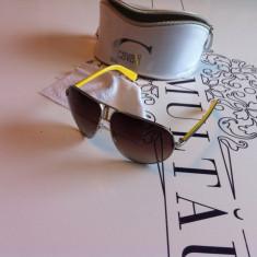Ochelari de soare ROBERTO CAVALLI JC 508S 16F, Unisex, Maro, Ovali, Metal, Protectie UV 100%