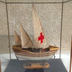 Macheta Navala Alta, 1:50 - Macheta Corabie Nina/Boat Miniature- din lemn lucrata manual