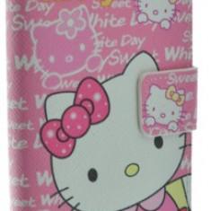 Husa Telefon - Husa toc Hello Kitty Samsung Galaxy S4 i9500 + folie ecran