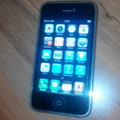 iPhone 3G Apple, Negru, 8GB, Neblocat