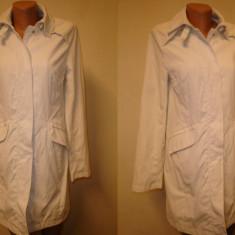 Trench dama Ralph Lauren, M, Alb - Trench Polo Jeans -Ralph Lauren 100%original