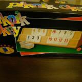 Jocuri Board games - Joc Remy Piknik Okey, joc NOU, distractiv, rezistent, board game, joc de societate. (Rummy, remi)