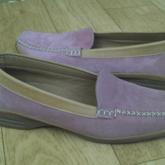 Pantofi din piele firma Gabor marimea 39, sunt noi! - Pantof dama Gabor, Culoare: Roz