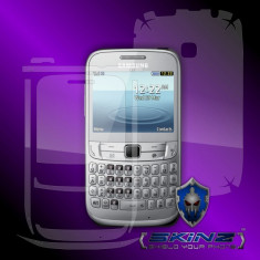Folie de protectie - SAMSUNG s3570 CHAT 357 - Folie SKINZ Protectie Full Body Ultra Clear HD, Invisible shield, profesionala, husa tip skin, carcasa, ecran, display