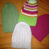 Set 4 caciulite tricotate, ca noi, pt. 2-4 ani - Caciula Copii