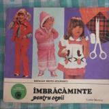 IMBRACAMINTE pentru copii NATALIA TAUTU STANESCU - Carte design vestimentar