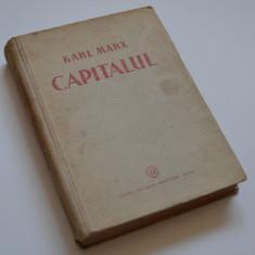 Carte Economie Politica - CAPITALUL - Karl Marx - 1948 - Critica Economiei Politice - vol I