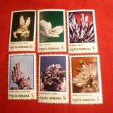 Serie- Flori de Mina 1985 Romania ,6 val.