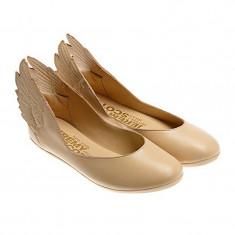 Balerini dama - Balerini Adidas Jeremy Scott Wings Ballerinas, Originali !!!, Noi In Cutie