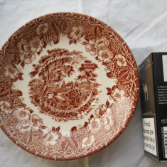 Farfurie Portelan Anglia marcata ( diametrul 14.5 cm )