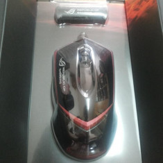 Mouse gaming ASUS GX1000 silver, USB, Laser, Peste 2000