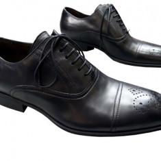 Pantofi barbati piele naturala Denis-1479-n