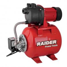 071101-Hidrofor 800W x 24L / pompa de apa curata Raider Power Tools, Cu turatie fixa pentru ridicarea presiunii
